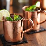 Awesome Copper Mug Bar
