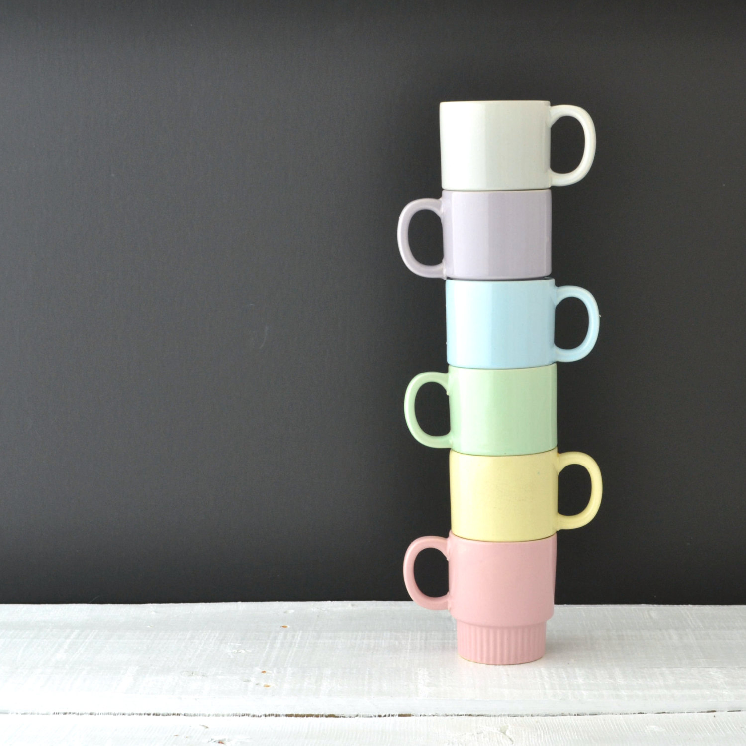 Image of: Awesome Stackable Mugs
