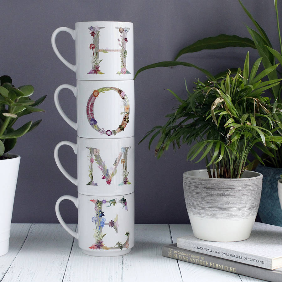 Image of: Awesome Stacking Mugs