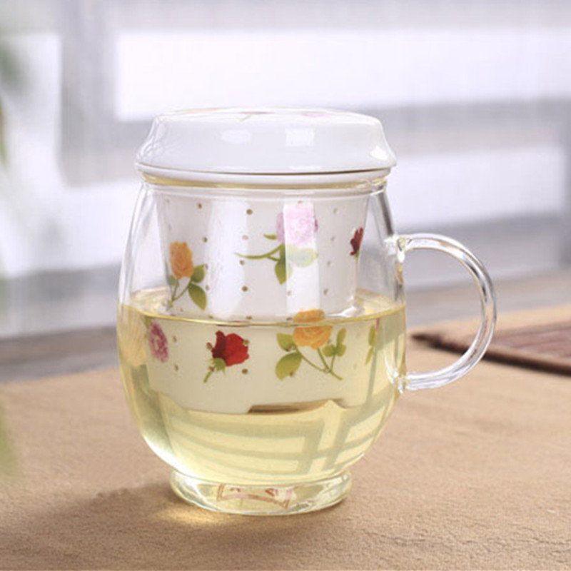 Image of: Awesome Tea Mug with Infuser