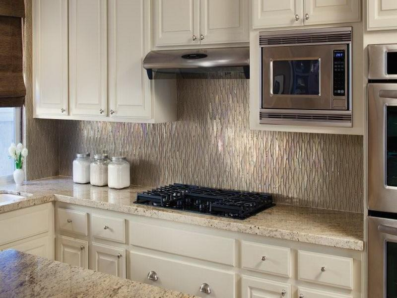 Image of: Awesome Kitchen Backsplash Ideas White