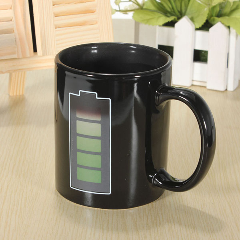 Battery Coffee Mug Black