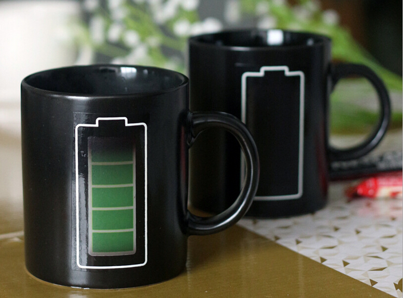 Image of: Battery Coffee Mug Display