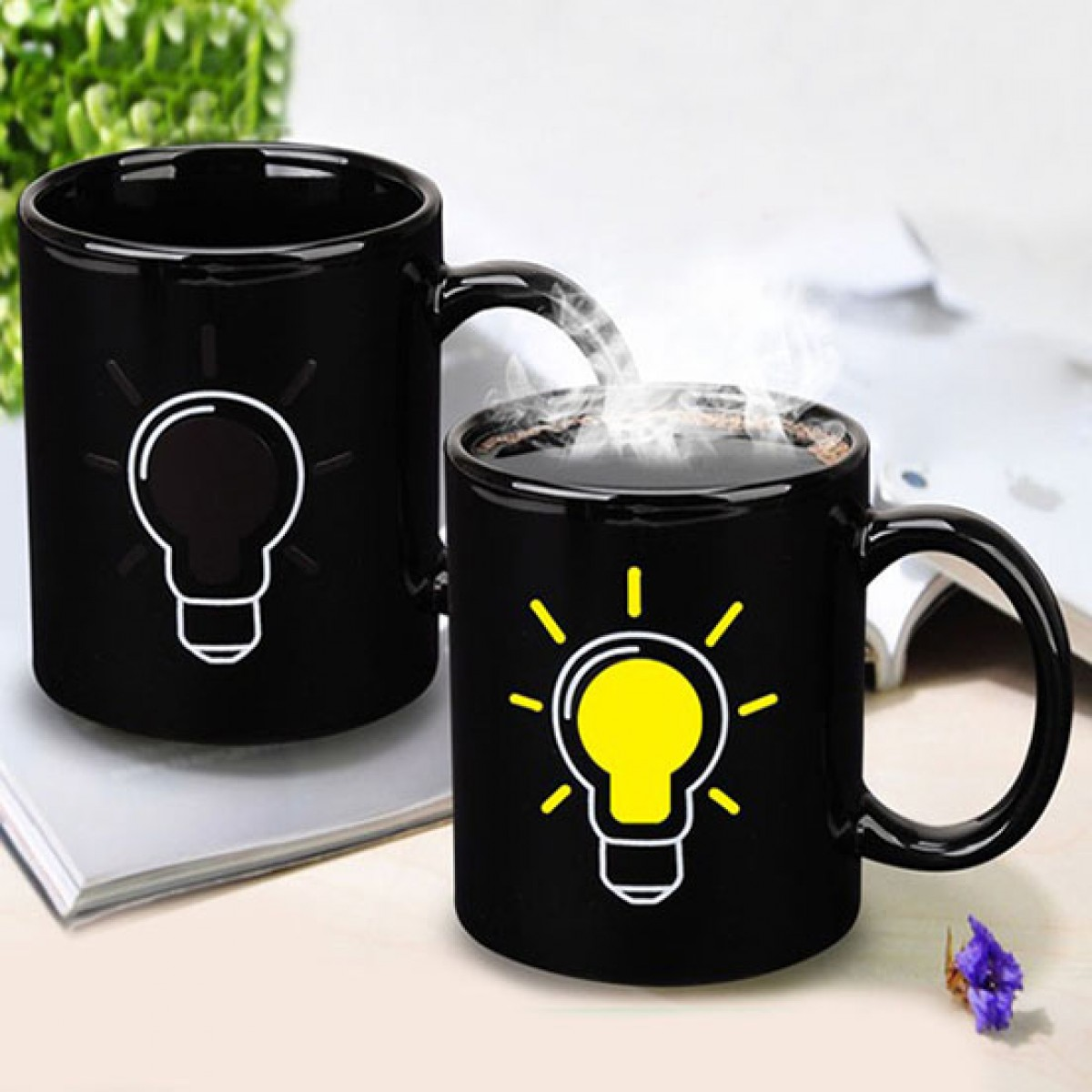 Image of: Battery Coffee Mug Style