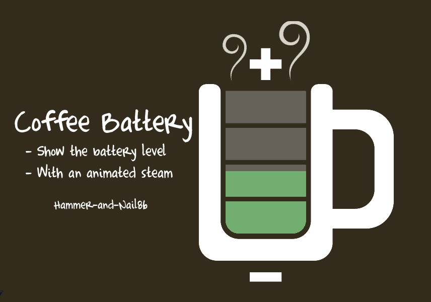Battery Coffee Mug System