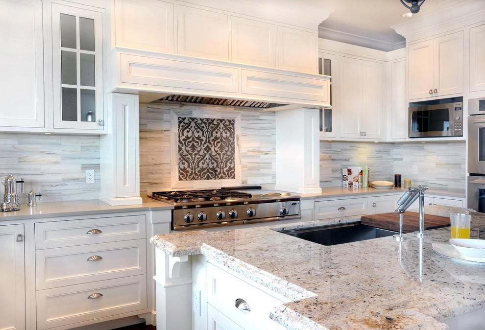 Image of: Beautiful Glass Backsplash Tile Ideas