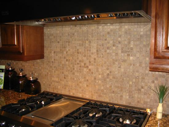 Image of: Beautiful Stone Mosaic Backsplash Tile Ideas