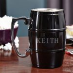 Beer Barrel Stainless Steel Mug