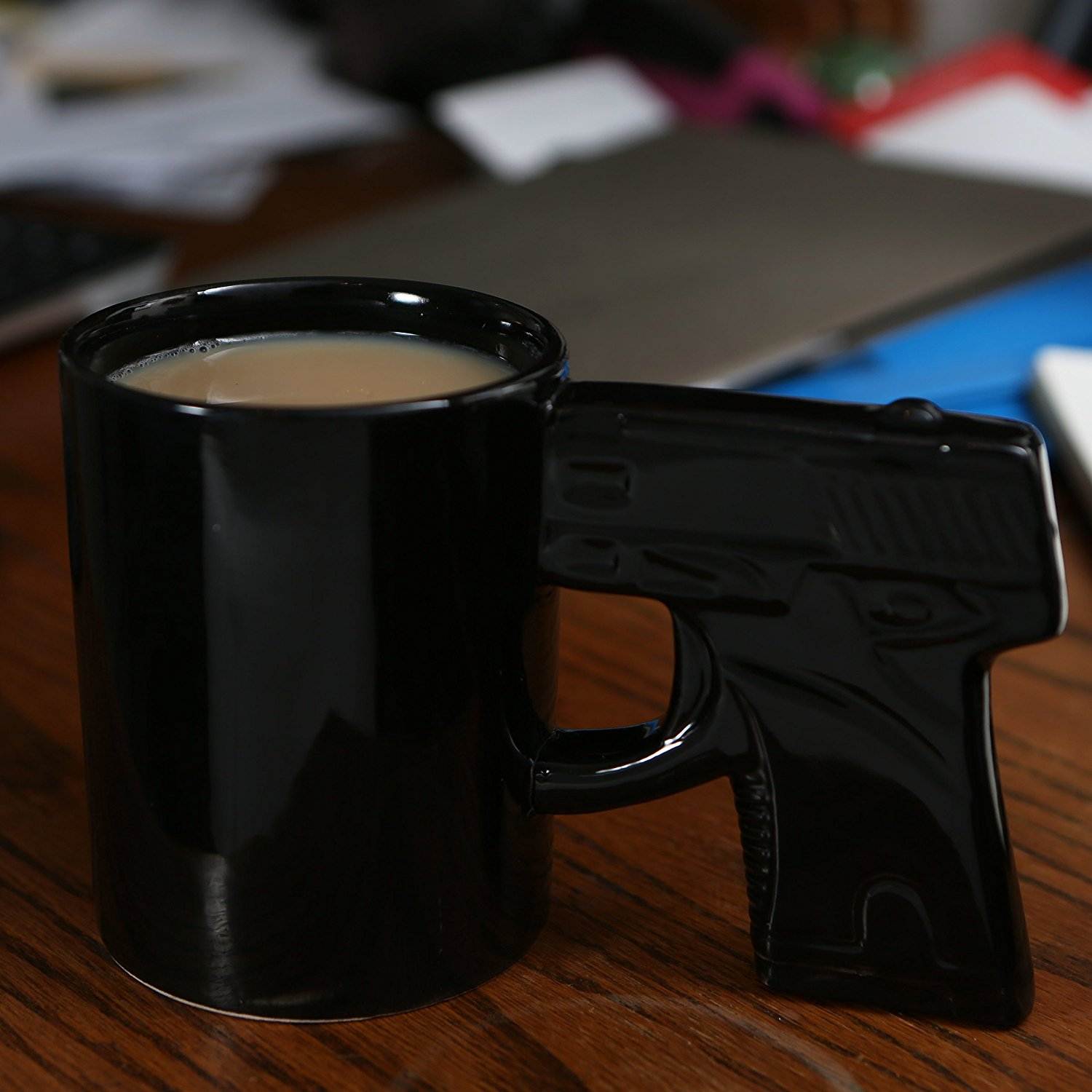 Image of: Black Gun Mug
