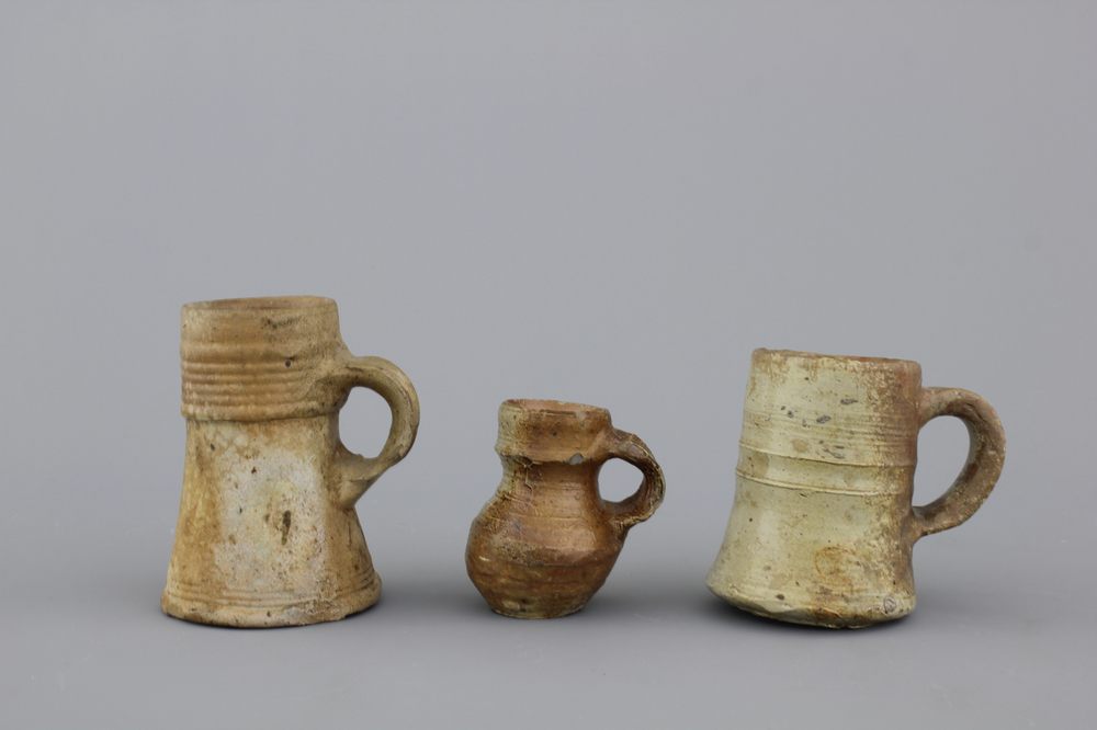 Image of: Black Stoneware Mugs