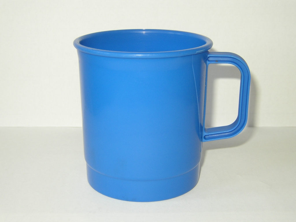Image of: Blue Camping Mug