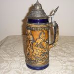 Blue German Stein Mug