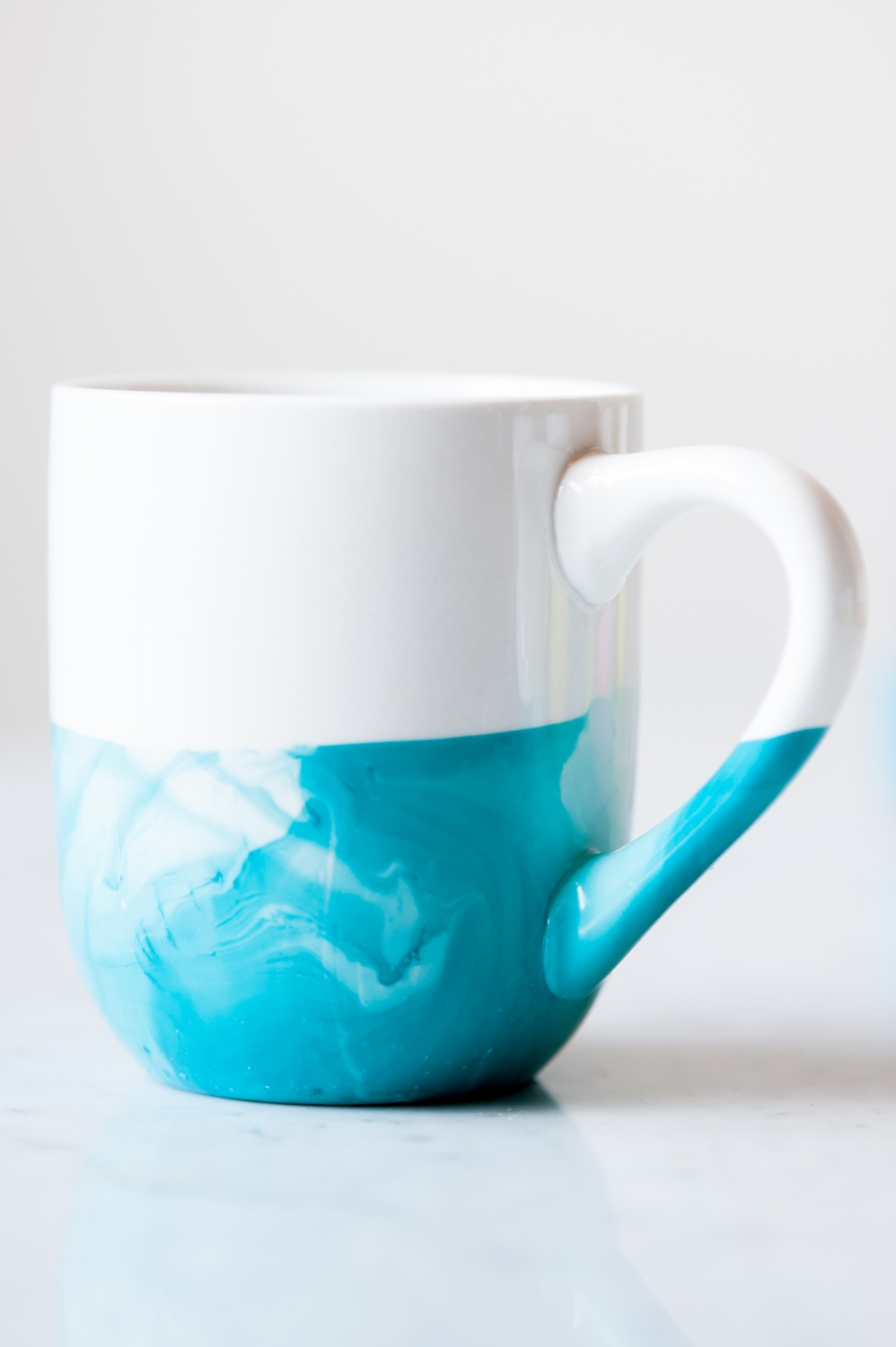 Image of: Blue Marble Mug Designs Ideas