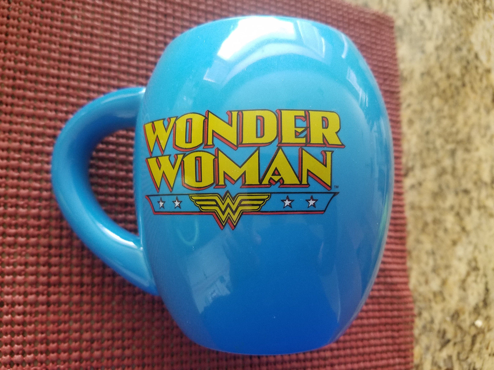 Image of: Blue Wonder Woman Mug