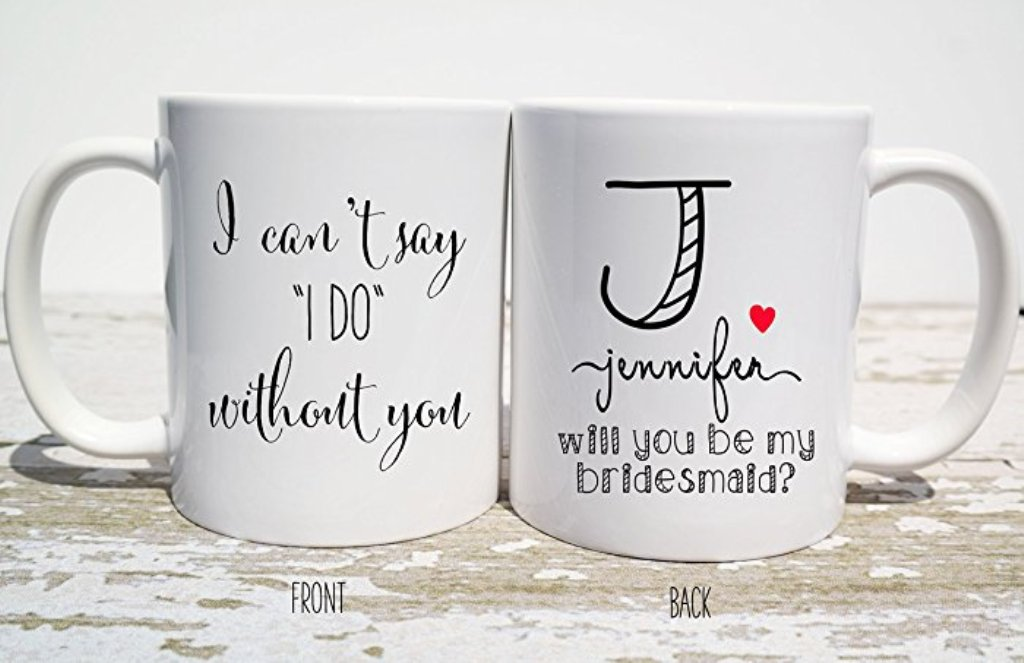 Image of: Bridesmaid Mug Beer