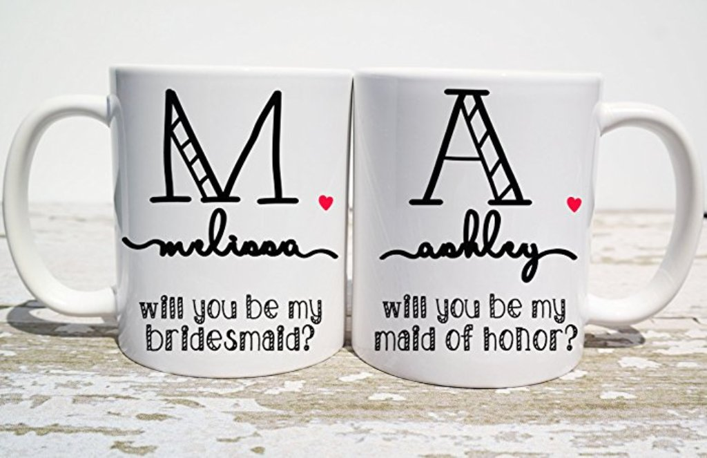 Image of: Bridesmaid Mug Coffee