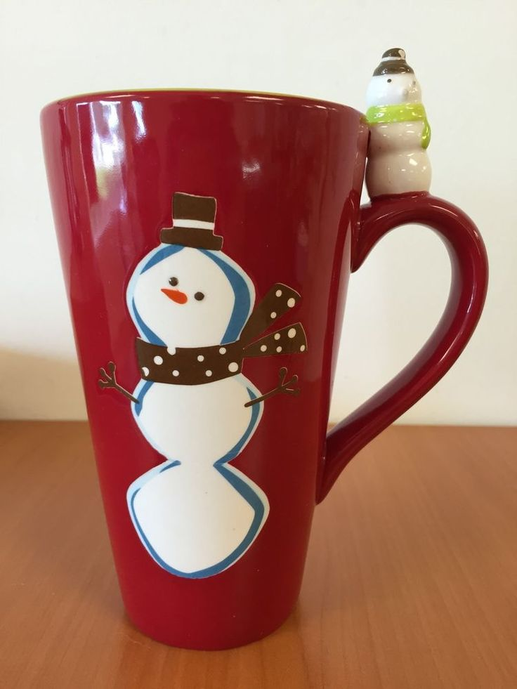 Image of: Brown Snowman Coffee Mug