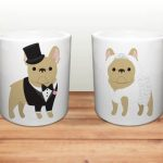Bulldog Coffee Mug Brownie