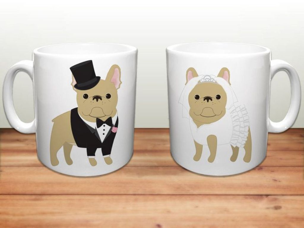 Image of: Bulldog Coffee Mug Brownie