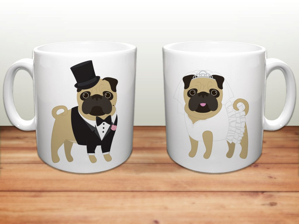 Image of: Bulldog Coffee Mug Business