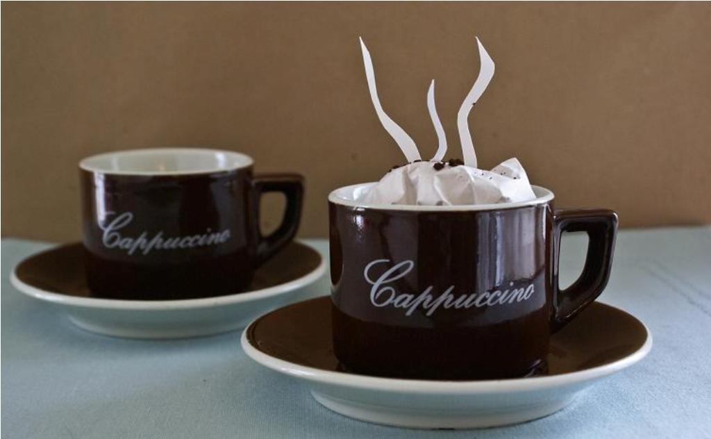 Image of: Cappuccino Mugs Set