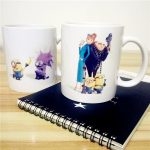 Cartoon Customizable Mugs