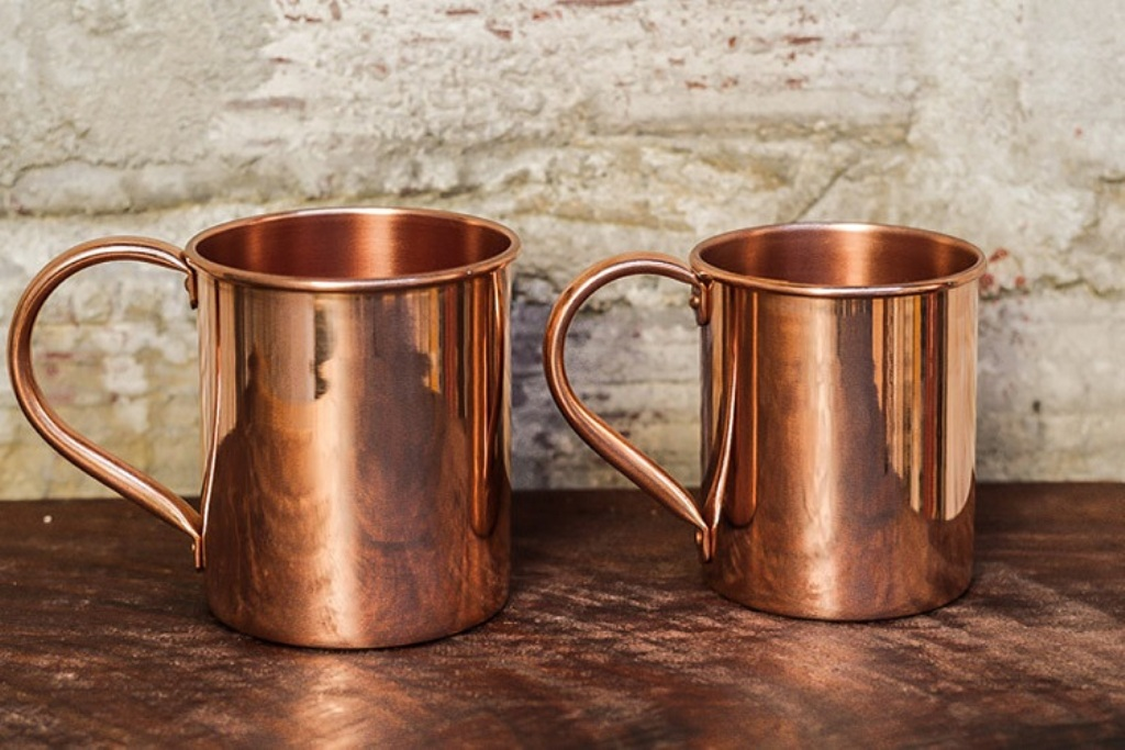 Image of: Case of Copper Mug