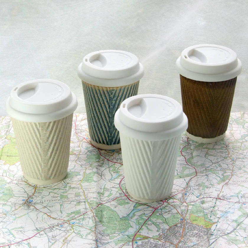 Image of: Ceramic Travel Mug Design