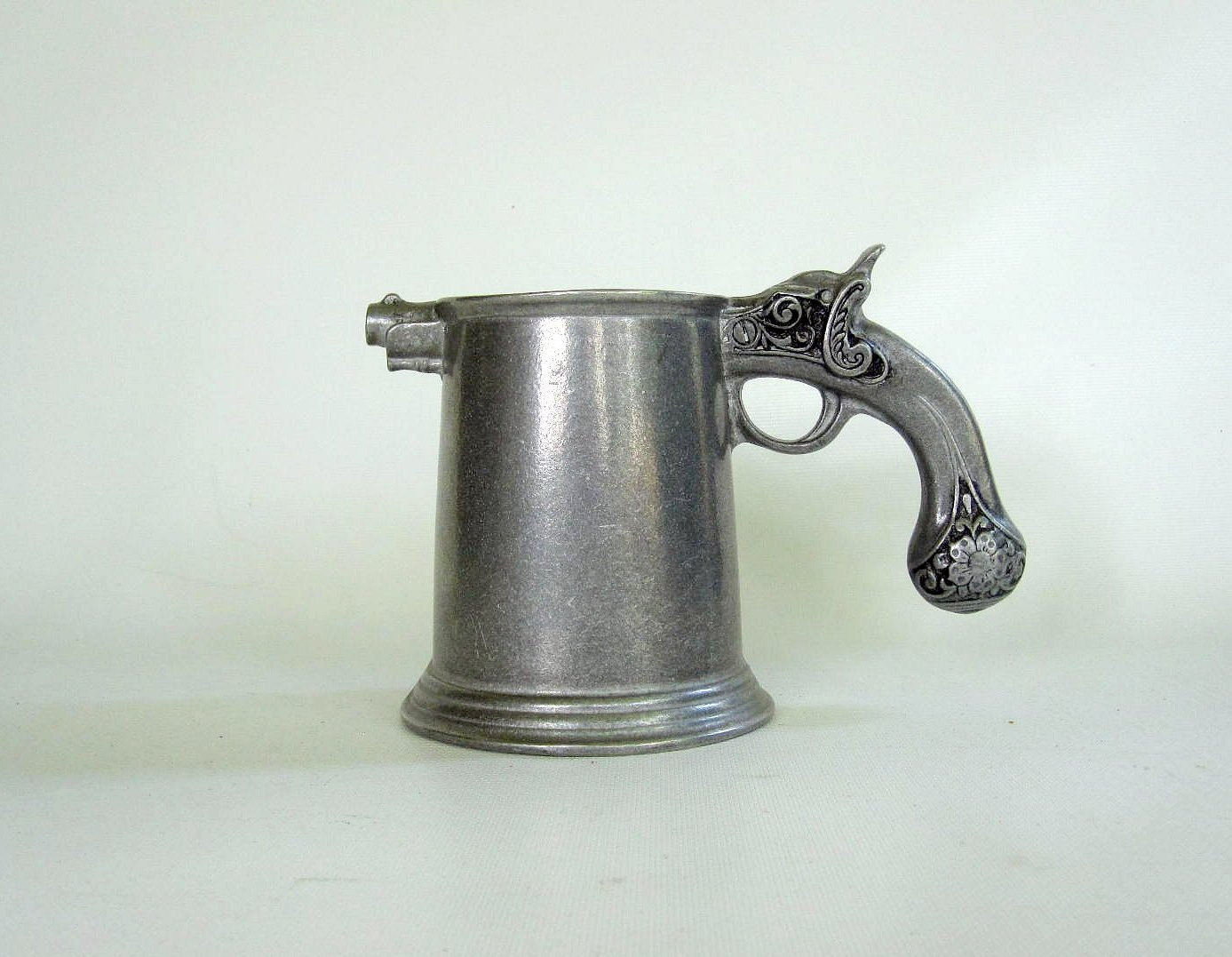 Image of: Chrome Gun Mug
