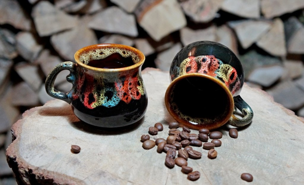 Image of: Classic Stoneware Coffee Mugs