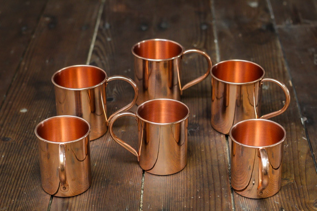 Image of: Cleaning a Copper Mug