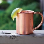 Cocktails in a Copper Mug