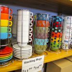 Colorful Stacking Mugs