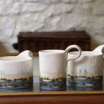 Contemporary Stoneware Coffee Mugs