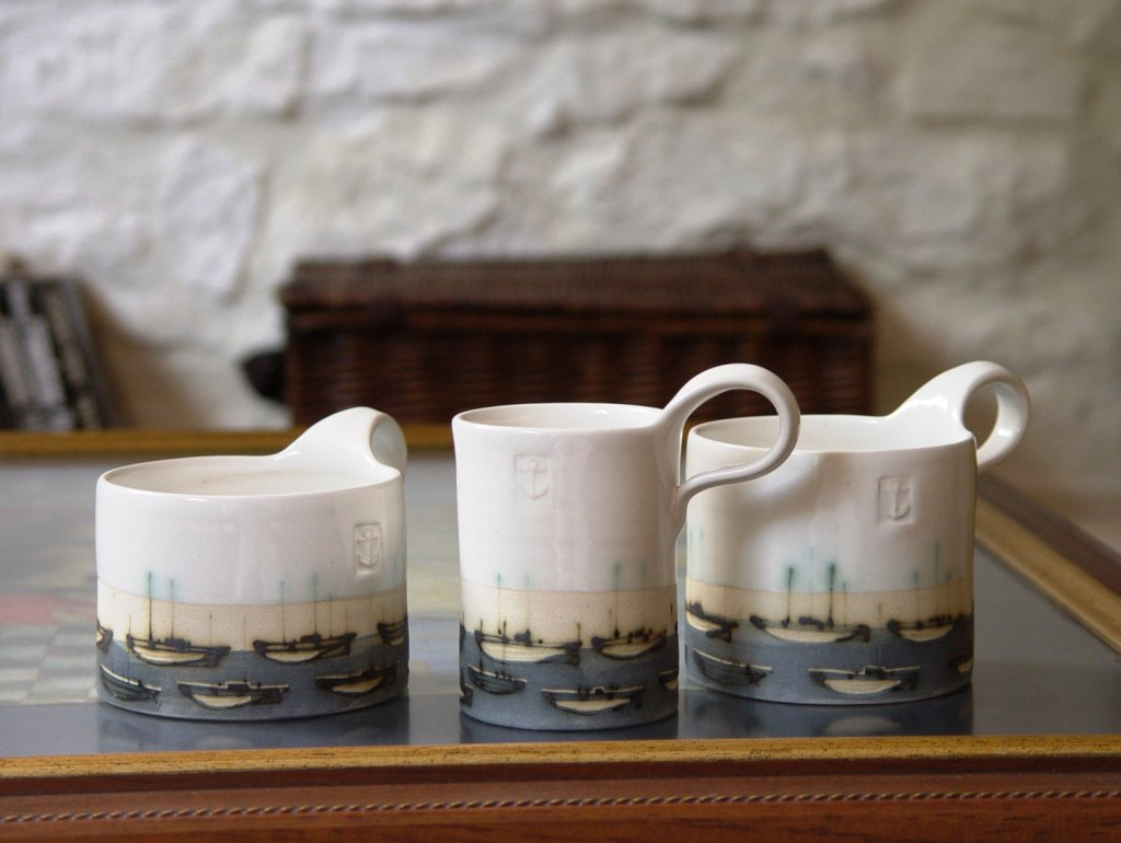 Image of: Contemporary Stoneware Coffee Mugs