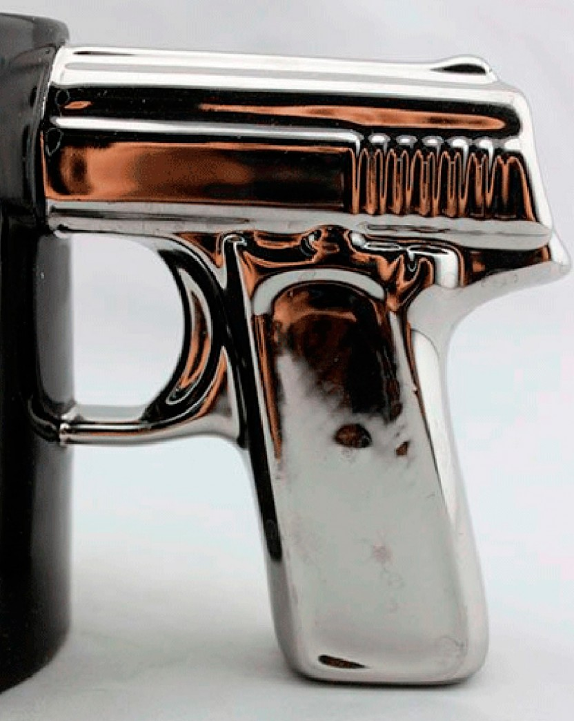 Image of: Cool Gun Mug