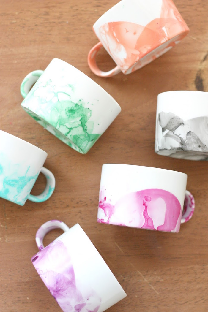 Image of: Cool Marble Mug