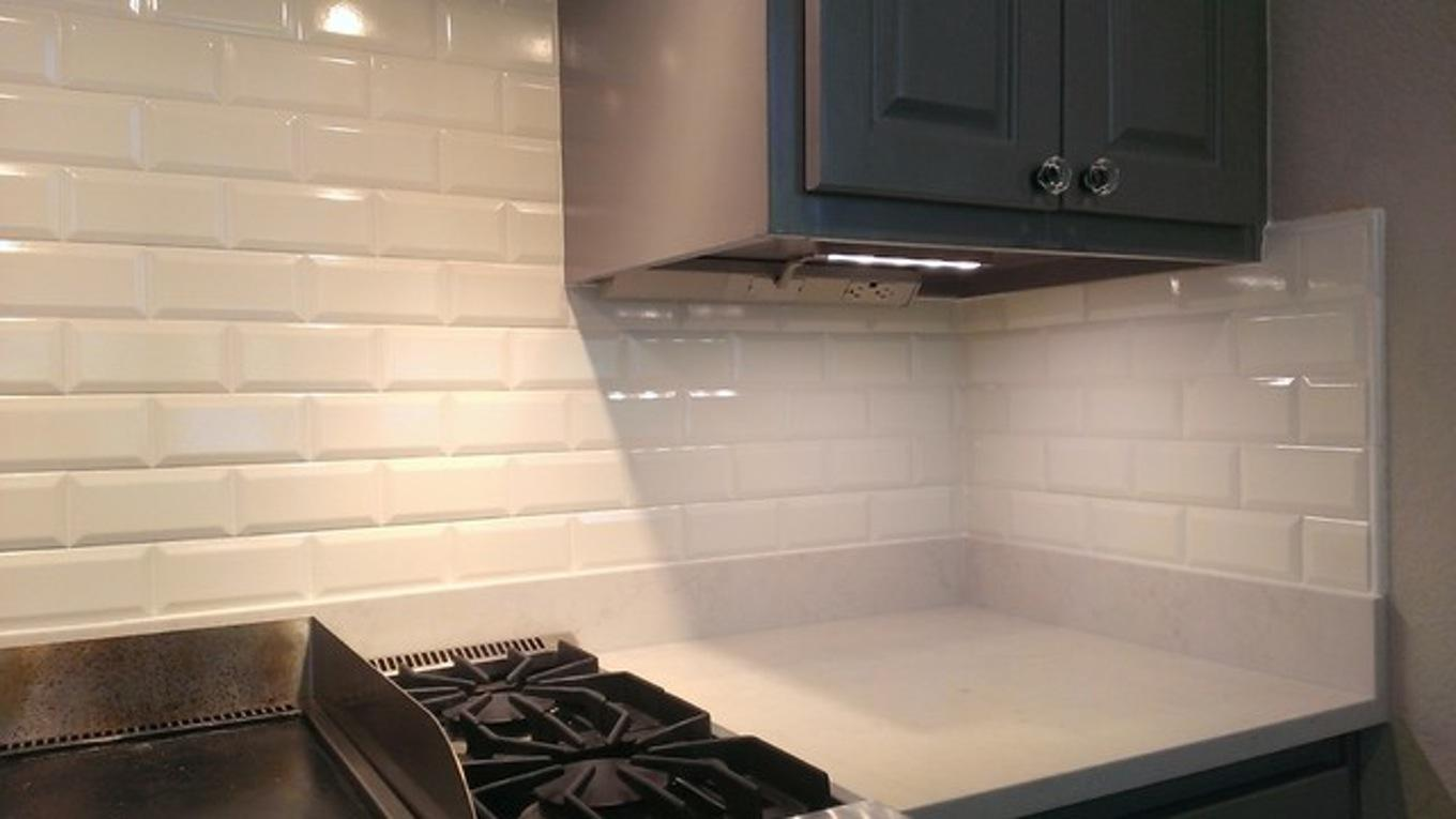 Image of: Cool Glass Tile Backsplash Ideas