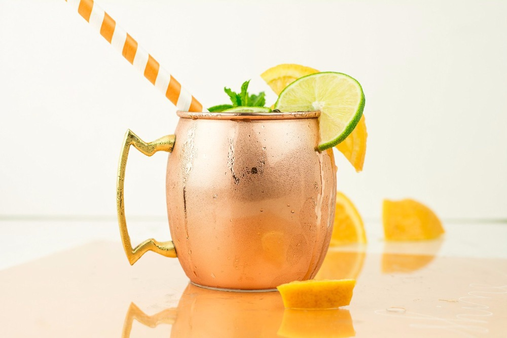 Image of: Copper Mugs Moscow Mule Barrel