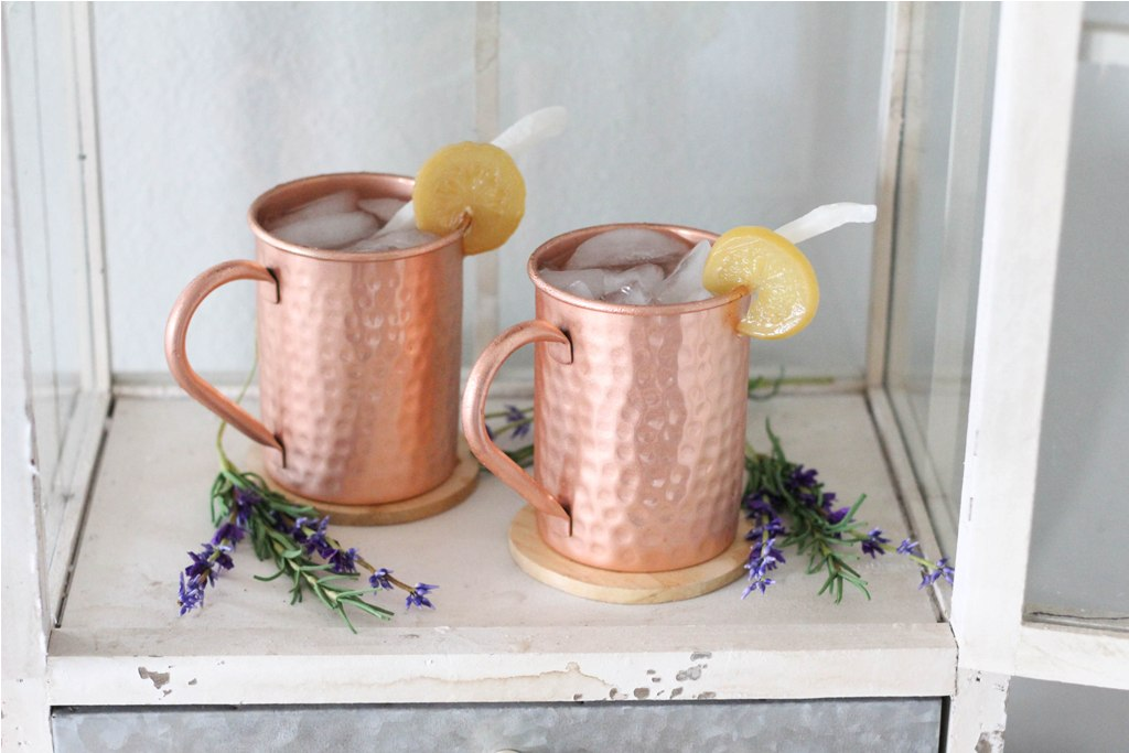 Image of: Copper Mugs Moscow Mule DIY