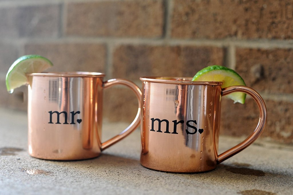 Image of: Copper Mugs Moscow Mule Design