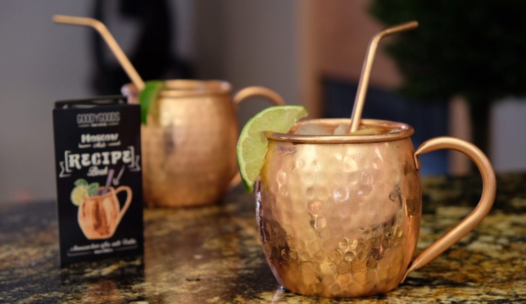 Image of: Copper Mugs Moscow Mule Ideas