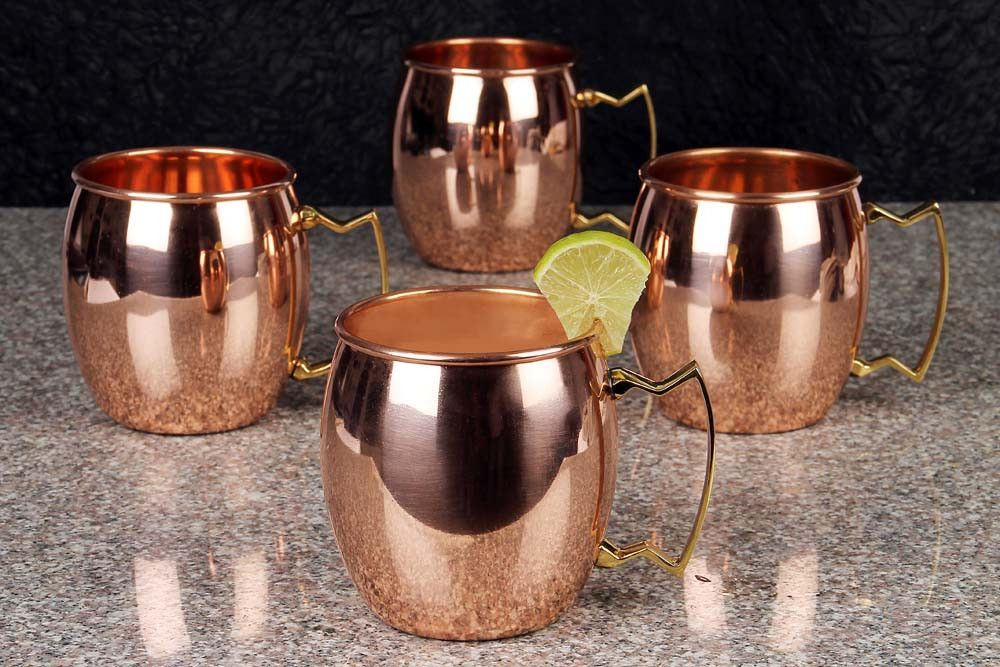 Image of: Copper Mugs Moscow Mule Images