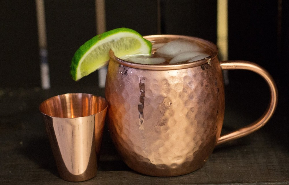 Image of: Copper Mugs Moscow Mule