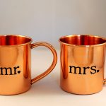 Copper Mule Mugs Copule