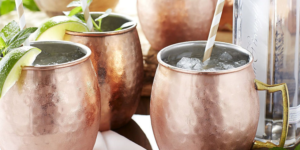 Image of: Copper Mule Mugs Designs
