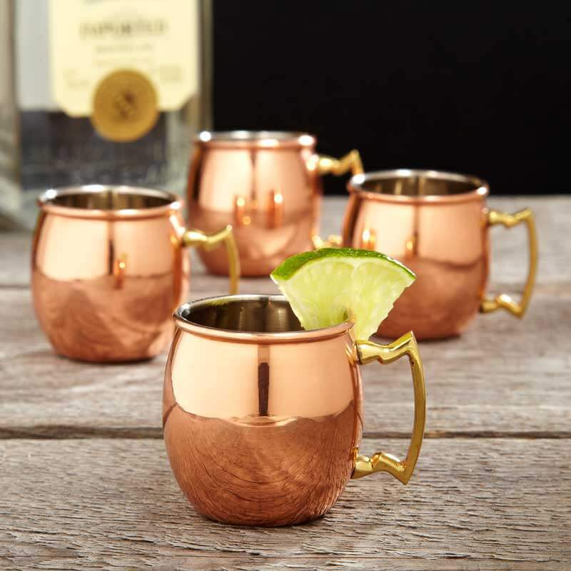 Image of: Copper Mule Mugs Sets