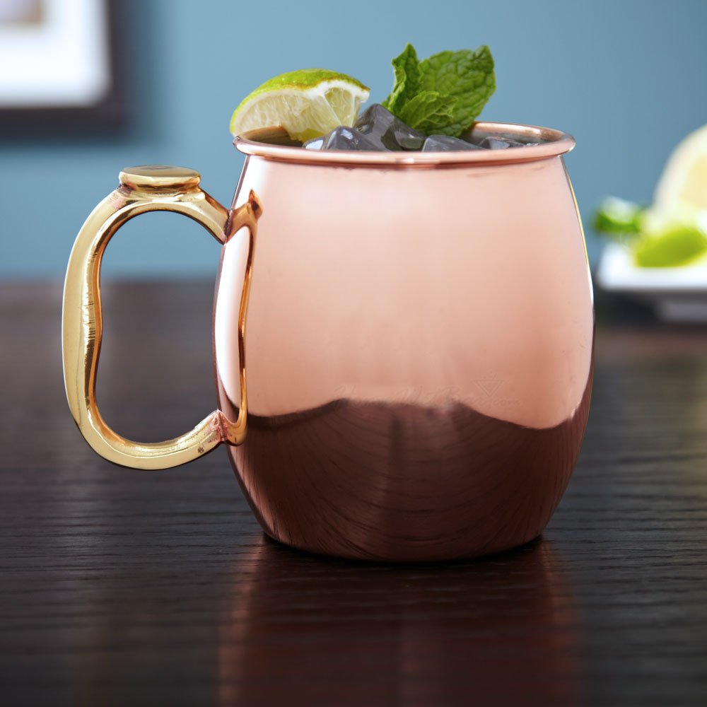 Image of: Copper Mule Mugs Style