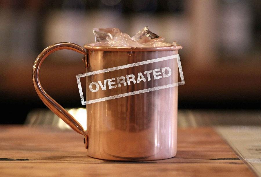 Image of: Copper Mule Mugs Type