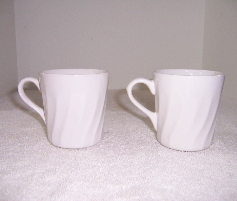 Image of: Corelle Mugs White
